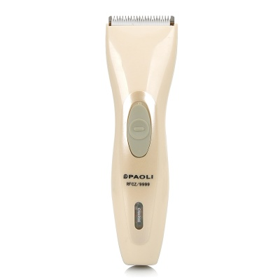 PAOLI RFCZ9999 2W Electric Pet Hair Clipper Set for Dogs - Light Ivory + Light Green