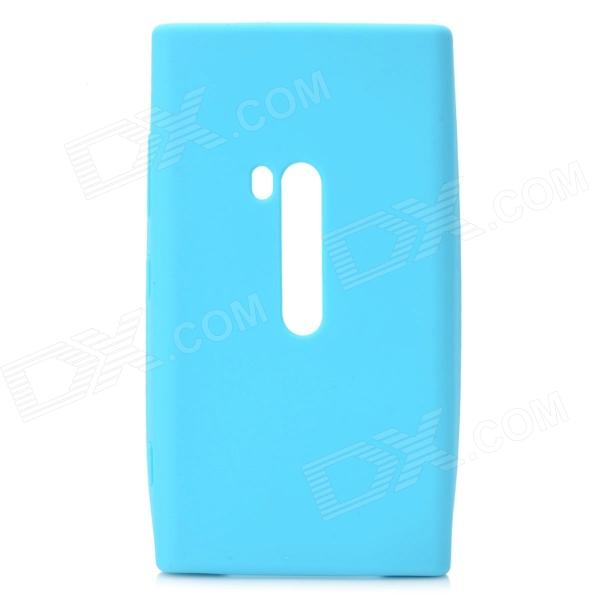 Buy Protective Silicone Back Case for Nokia Lumia 920 - Blue with Litecoins with Free Shipping on Gipsybee.com