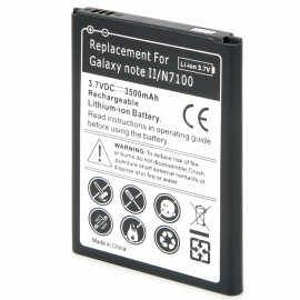 Replacement-3500mAh-Li-ion-Battery-for-Samsung-Galaxy-Note-II-N7100-Black