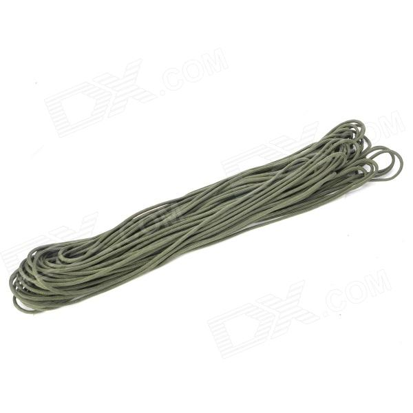 Outdoor Seven Two-ply Yarns Parachute Cord / Lifeline for Camping / Climbing - Green (31m)