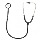 YS615-Deluxe-Healthy-Medical-Single-Head-Stethoscope-Black-2b-Silver
