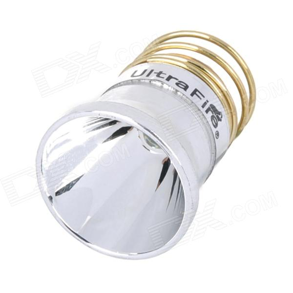 UltraFire 250lm White Aluminum Smooth Reflector Drop-In Module w/ CREE XR-E R2 - Silver