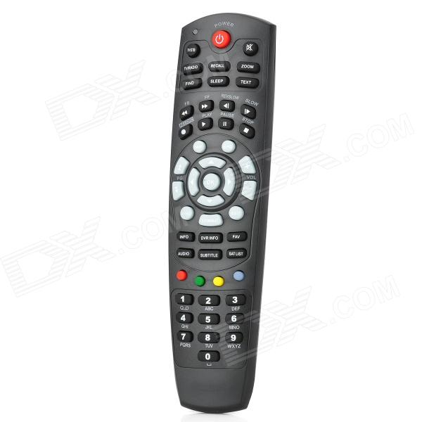 Satellite Receiver Remote Controller for HIBOX, HD800SE, HD800V9, Skybox S11 / S12 - Black