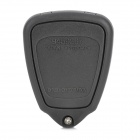 AML030761 VOLVO Automobile 4-Button Remote Control Key Case - Dark Grey