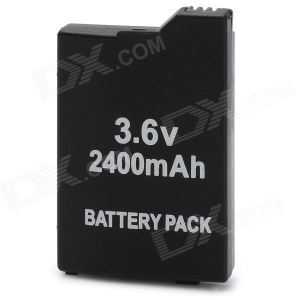 3.6V 2400mAh Rechargeable Battery Pack for PSP 3000 / 2000 - Black