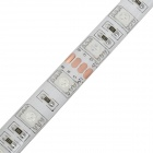Waterproof 28W 960lm 28W 120-SMD 5050 LED RGB Light Flexible Strip - (DC 12V / 2m-Cable)