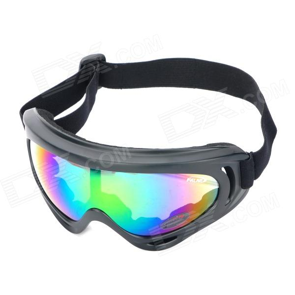 Buy Outdoor Motorcycle Riding Cool Windproof Goggles - Black with Litecoins with Free Shipping on Gipsybee.com