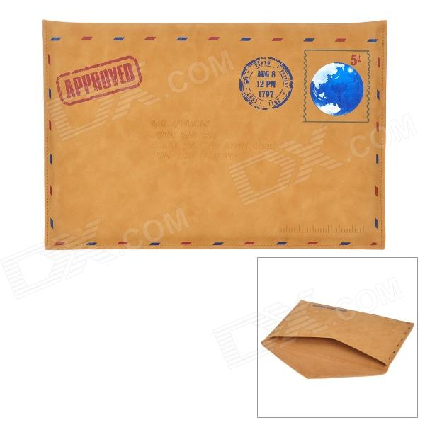 Vintage-Envelope-Style-PU-Sleeve-Case-for-13-MacBook-Air-Brown