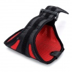 Gimnasio Deportes Arm Band Mesh Case for Samsung Galaxy Note N7100 II - Rojo + Negro