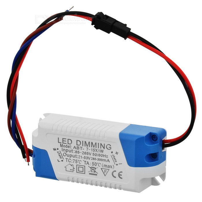 15W LED Constant Current Source Power Supply Driver (85~265V)