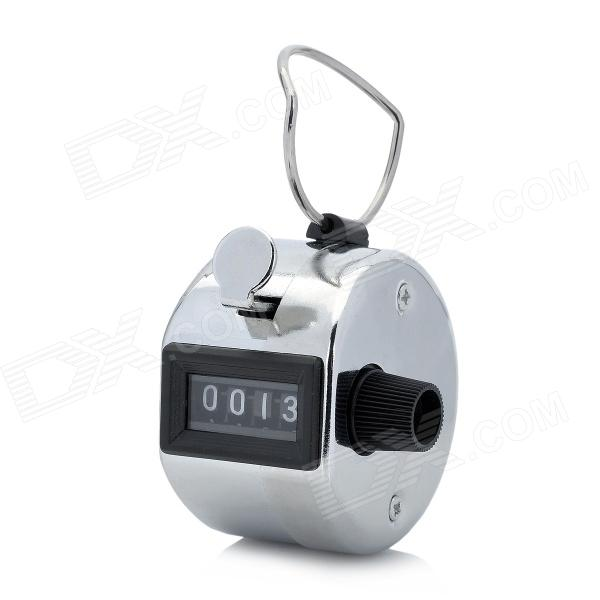 Stainless Steel Manual Counter - Silver + Black