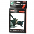 Professional Wrist Grip Strap for Canon / Nikon / Sony DSLR Cameras - Black