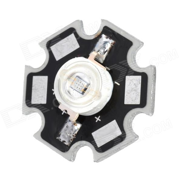 JR-460-B 55lm 3W 460nm LED Blå Lys Lodding Bulb Plate-Svart