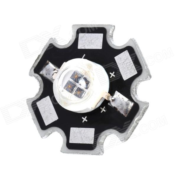 DY-5W-940 5W 940nm LED Infrared Soldering Bulb Plate - Silver + Black