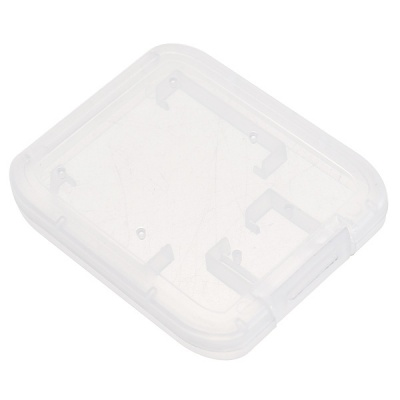 Protective Cases for MicroSD / TF / SD / SDHC Cards - White (10PCS)