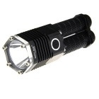 SMALL SUN ZY-T07 800lm 5-Mode White Flashlight w/ Cree XM-L T6 - Black (1/2 x 18650)