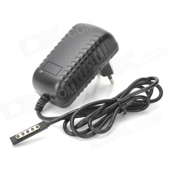 Buy 2000mA 12V Power Adapter for Microsoft Surface RT - Black (EU Plug) with Litecoins with Free Shipping on Gipsybee.com