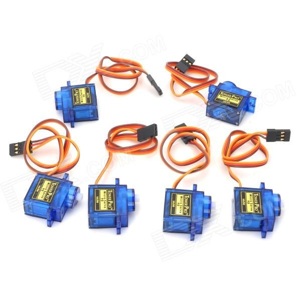 Tower Pro SG90 9g Gear Steering Servo (6PCS)