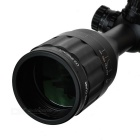 SNIPER 3 ~ 9X 50mm RGB Optical Reticle Rifle Scope för 11mm Rail - Svart