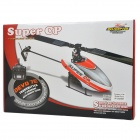Walkera Super CP 6-CH 2.4GHz Radio Control R/C Helicopter - Red + Black + White
