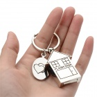 B049 Creative Small House Style USB 2.0 -muistitikku - hopea (4 Gt)