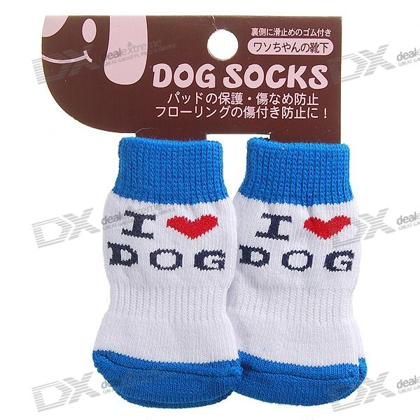 Buy Japan-Design Cute Socks for Dogs/Cats - Large (4-Sock Set) with Litecoins with Free Shipping on Gipsybee.com