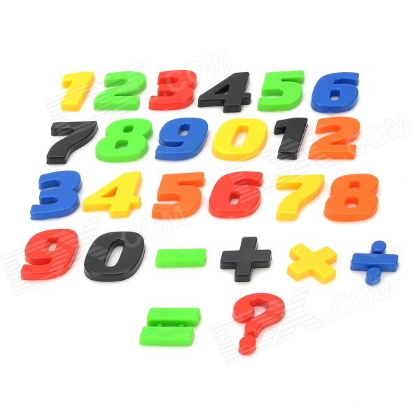 Numbers and Math Symbols Magnets Set (26 PCS)Magnets Gadgets<br>ModelNQuantity1MaterialPlasticPacking List<br>