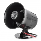 30W-Car-Motorcycle-Three-Tone-Horn-Speaker-Bugle-Black-(DC-12V)