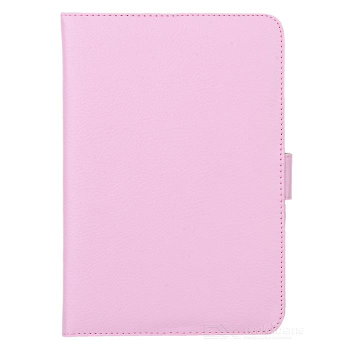 Lychee Pattern Protective PU Leather Case for Ipad MINI - Pink