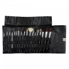 Professional-Make-up-Brushes-Set-with-Leather-Case-(18-Piece-Set)