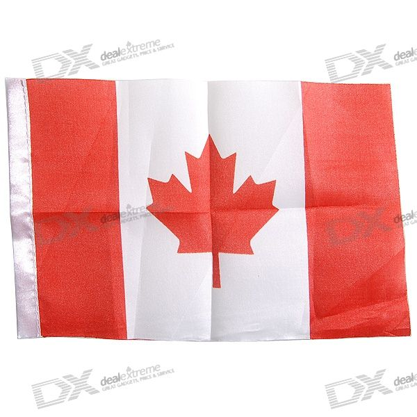 Flag of Canada - 21.5cm Size (2-Pack)