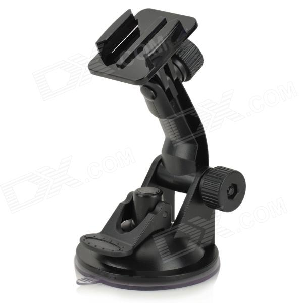 SMJ RI-006 Outdoor Car Camera Fixing Holder for GoPro / SJ4000 - BlackMounting Accessories<br>ModelRIForm  ColorBlackMaterialPlastic<br><br>SocketTypeOthersRetractableNoOther FeaturesSuitablePacking List<br>
