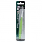 Pro'skit 1PK-101T 120mm Stainless Steel Anti-Magnetic Round Insulated Tweezers - Green