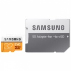 samsung mb-mpbgb TF carte w / carte SD adaptateur - noir + orange (32GB)