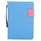 Basketball-Pattern-Protective-PU-Leather-for-Ipad-MINI-Blue
