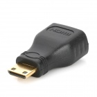 GreenConnection 20101 Mini HDMI to HDMI M-F Adapter - Black + Golden