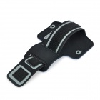 Fashion Sports Outdoor Armband for Iphone 4 / 4S - Blue + Black