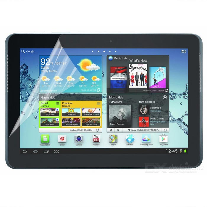 "ENKAY Protective Clear Screen Protector for 10.1"" Samsung Galaxy Tab 2 P5100 / P5110"