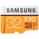 Samsung Micro SD / TF Memory Card - Black + Orange (32GB / Class 10)