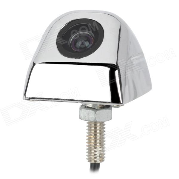 Wide Angle CCD 1/4 728*582 Car Rear / Front / Side View Camera - White