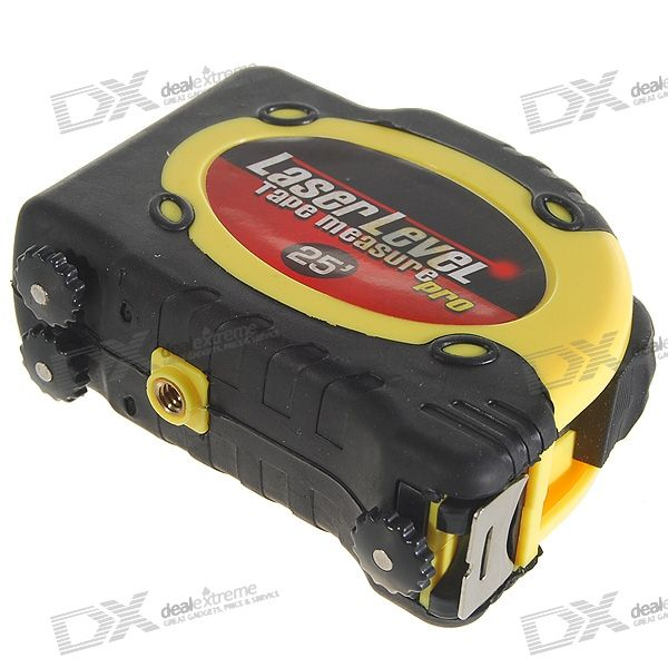Laser Level with 6.5M Measuring Tape and Spare Batteries
