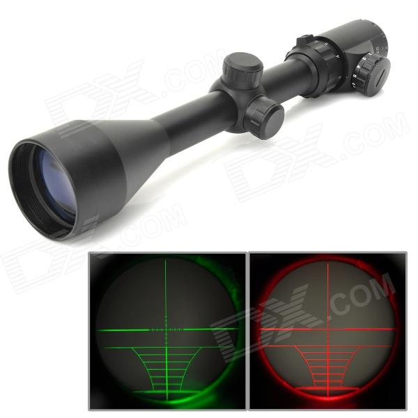 Aluminum Alloy 20mm 3X~9X Red / Green 5-Mode Gun Riflescope - Black (1 x CR2032)Gun Scopes &amp; Sights<br>ModelNForm  ColorBlackMaterialAluminumQuantity1Gun TypeSuitableReticleFiveMagnification3X~9XObjectiveObjective Diameter50mmExitExit Pupil Diameter50mmEyeEye Relief5~7cmAdjustmentAdjustment GraduationBallisticLaser ColorRed,GreenPacking List<br>