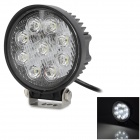 27W-1800lm-9-LED-White-Light-Car-Ambient-Working-Inspection-Dome-Backup-Lamp-Black