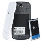 "THL W8 Android 4.1 Quad-Core Bar Phone w/ 5.0"" Capacitive Screen, Wi-Fi, GPS and Dual-SIM - White"