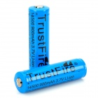 TrustFire Protected 14500 3.7V 900mAh Lithium Batteries - Blue (2PCS)