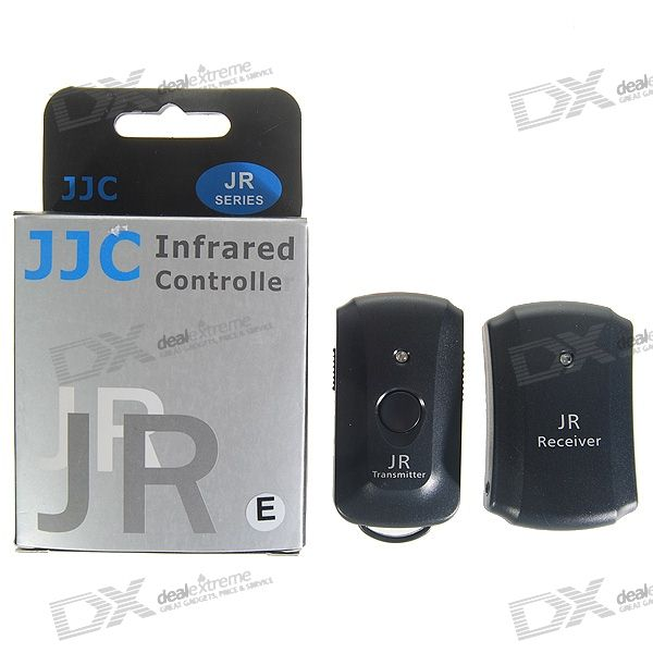 JJC JR-E InfraRed Shutter Remote for Olympus E1/E100RS/C8080 + More Digital SLR Cameras