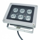 6W 6-LED Night Vision Infrared Illumination Lamp for Surveillance Security Camera - Grey