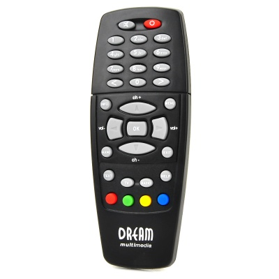 Remote Controller for Dreambox DM500 DM518 DM528 - Black (2*AAA)