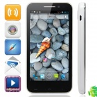 "iSA A19Q Quad Core Android 4.2.1 Smartphone w/ 4.7"" Capacitive Screen, Wi-Fi and GPS - White + Black"