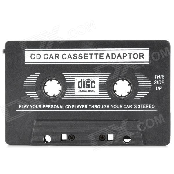 Buy 3.5mm Jack Car MP3 CD Cassette Converter Adapter - Black (80cm) with Litecoins with Free Shipping on Gipsybee.com